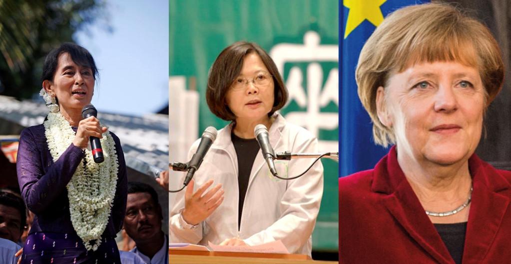 令人驚豔──三位女政治家