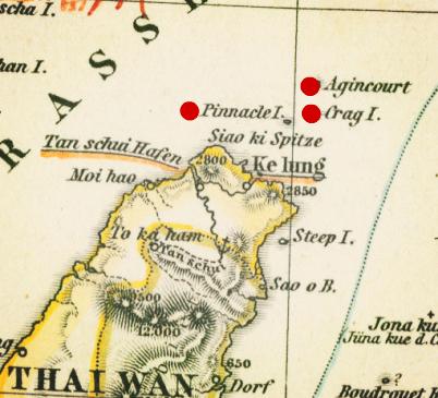 基隆北方三島的洋名字 原來都是150年前英國艦長取的