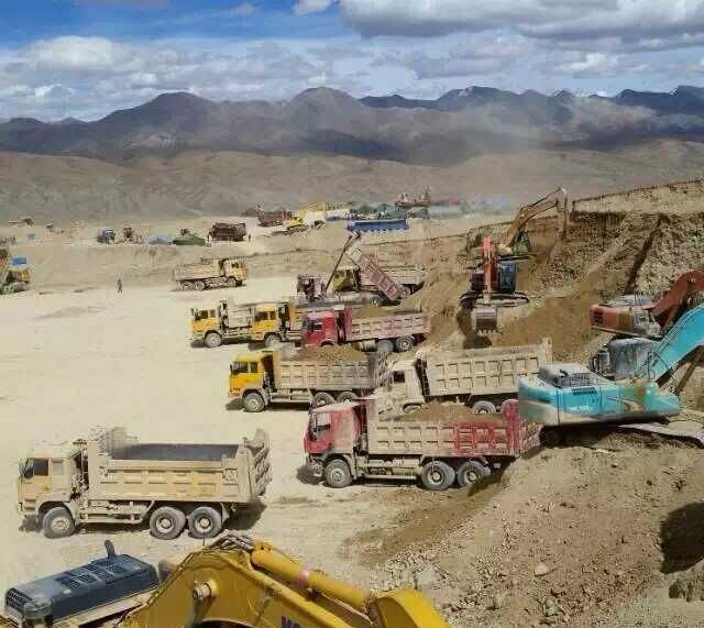 (專文) 非法採金破壞西藏生態,中國政府封鎖媒體報導