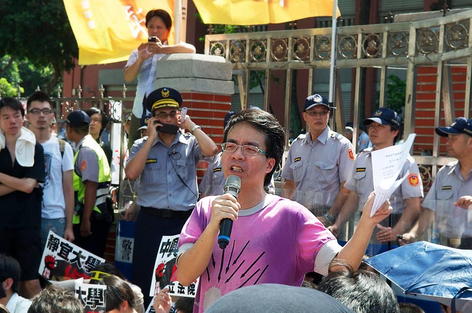 台獨新黨 梁文韜:強力抗共,否則贏得總統輸了台灣