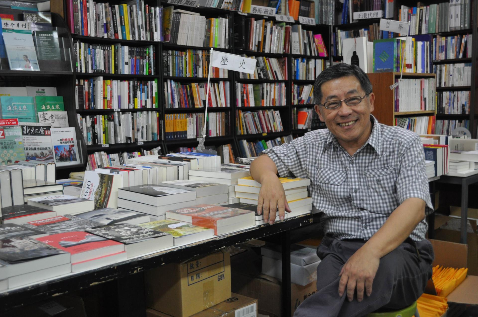 唐山曾是禁書專賣店  老闆陳隆昊獲台北文化獎