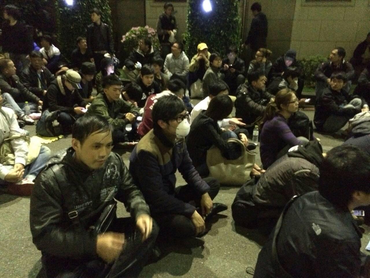 在日台灣人團體   籲馬下台 新民意決服貿