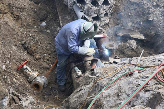 陳菊下令對氣爆災區石化管線斷管  中石化不服但配合