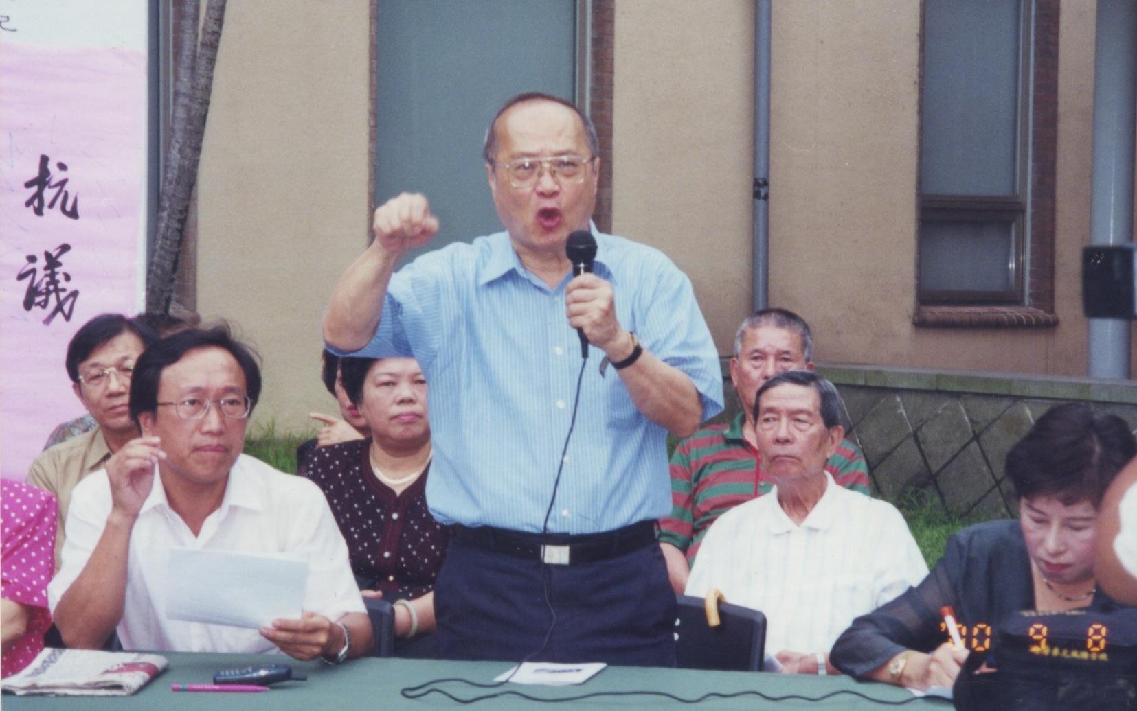陳少廷與台灣民主運動