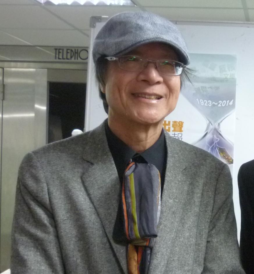金恆煒:傳承台灣人民自救宣言 盼太陽花終結國民黨